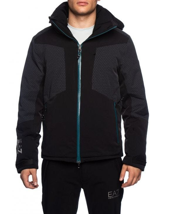 EA7 SKI JACKET IN BLACK