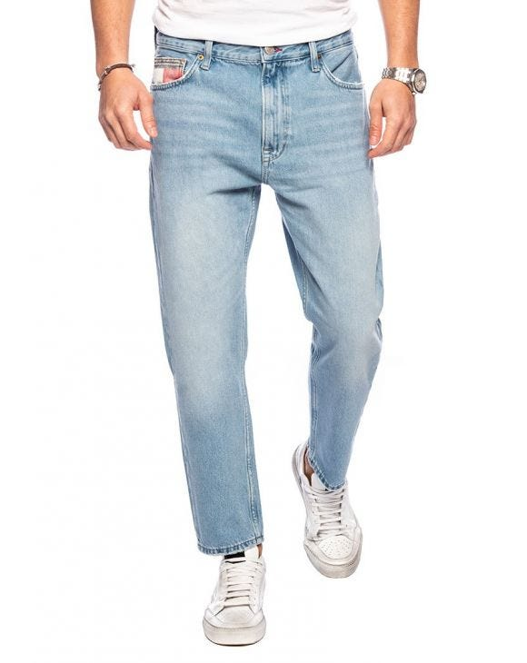 DAD JEANS STRAIGHT TMYFLG IN LIGHT BLUE DENIM