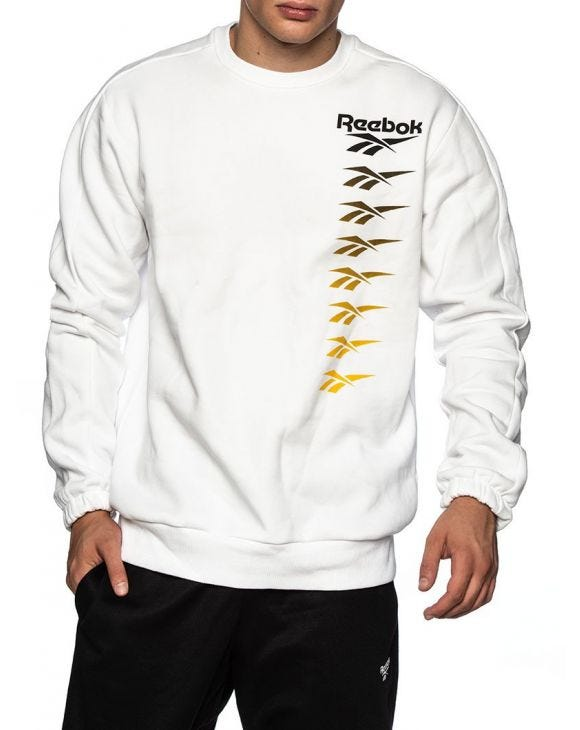 CL VP CREW SWEATSHIRT IN WHITE