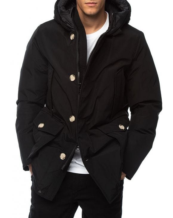ARTIC PARKA IN SCHWARZ