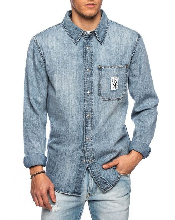 I PKT UTILITY CAMICIA IN DENIM