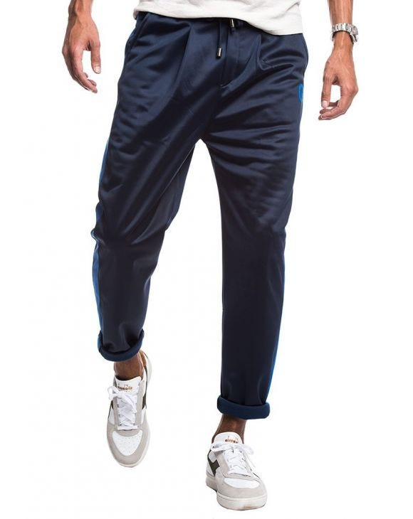 TECH TROUSERS IN BLUE AND BLUE ROYAL