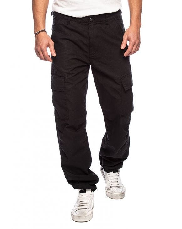 FIELD CARGO PANTS IN BLACK