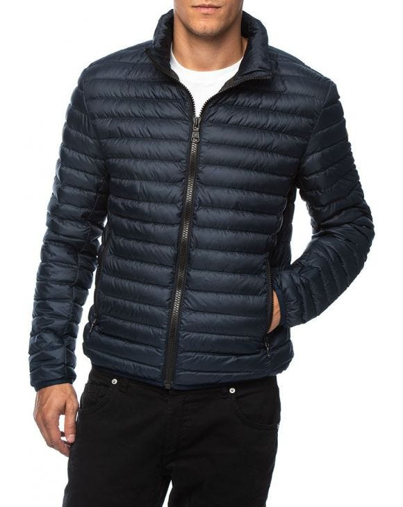 DOWN JACKE IN BLAUER MARINE