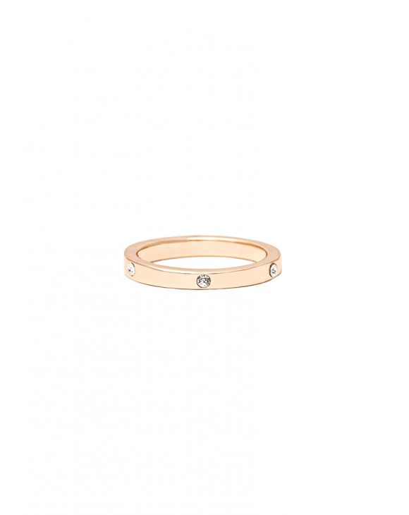 WENDY RING IN GOLD MIT ZIRKONEN