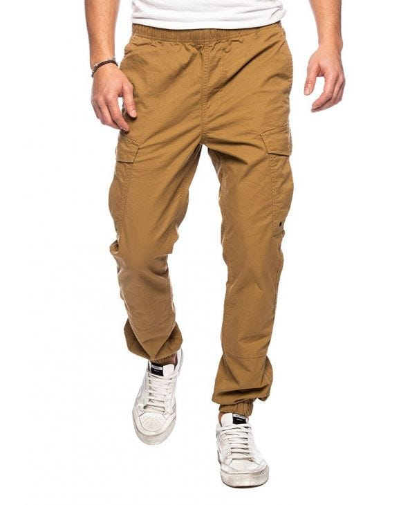 WORLDWIDE PANTALON CARGO EN TABAC