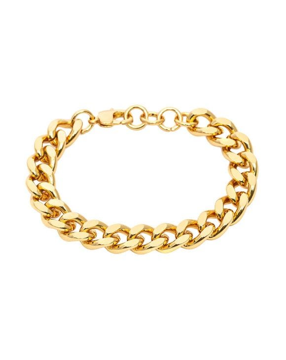 ANNE GROUMETTE-ARMBAND IN GOLD