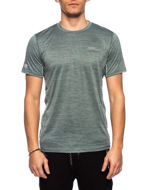 TRAINING T-SHIRT IN GREEN