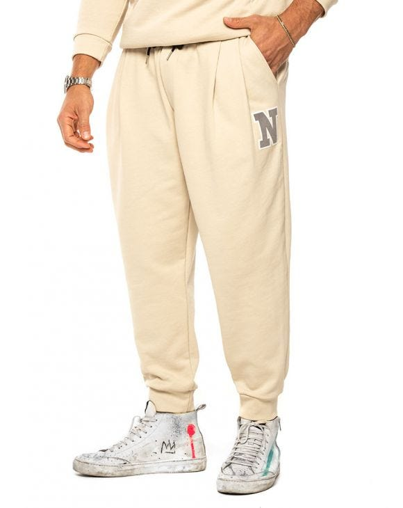 MARCUS JOGGINGHOSE IN BEIGE