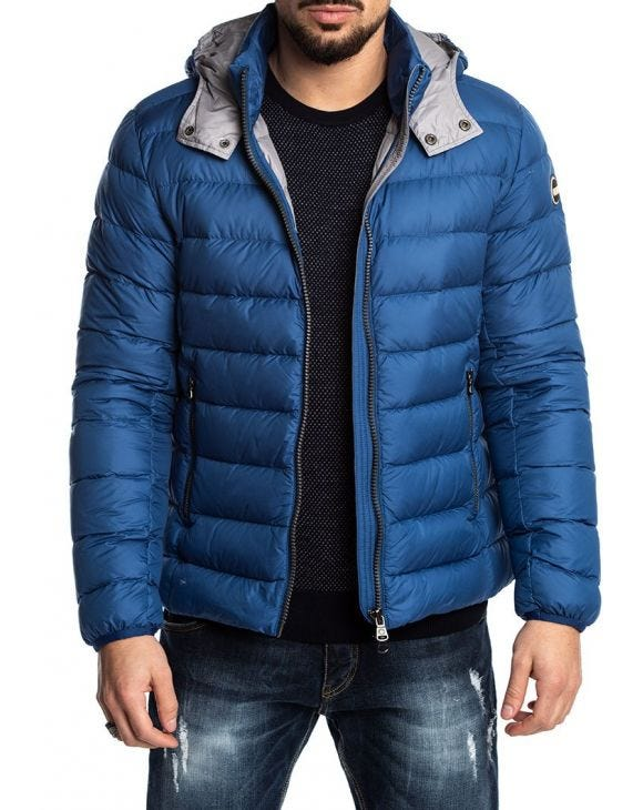 EMPIRE JACKE IN HELLBLAU