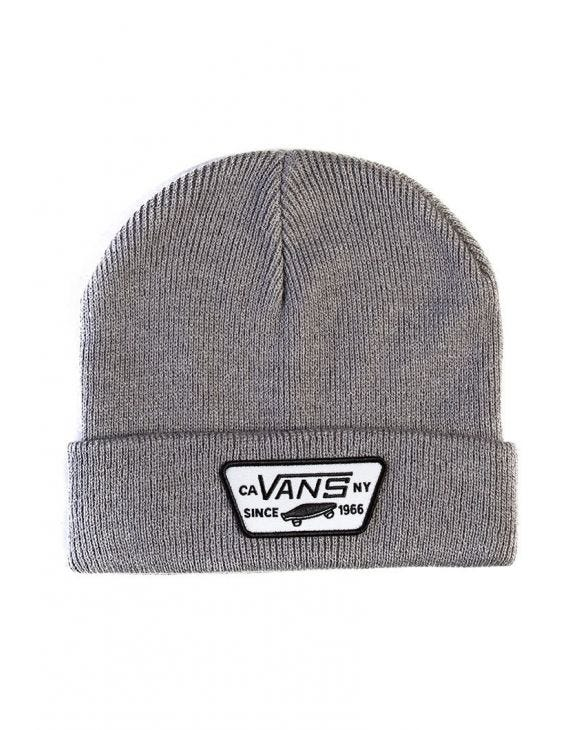MN MILFORD BEANIE IN LIGHT GREY