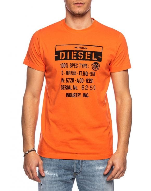 T-DIEGO T-SHIRT IN ORANGE