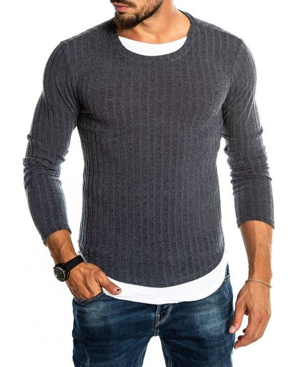 THORN LONG-SLEEVE IN ANTRACITE