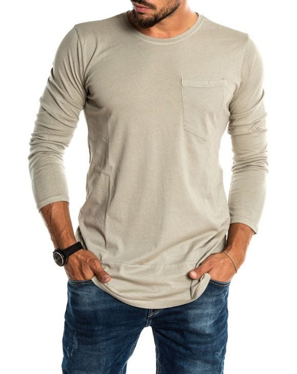 DISTRESSED MUD T-SHIRT