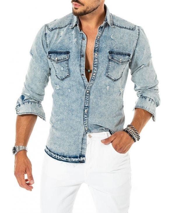 LOKU DENIM SHIRT