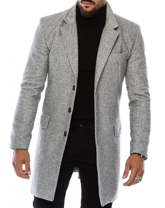 SEATTLE MANTEAU GRIS