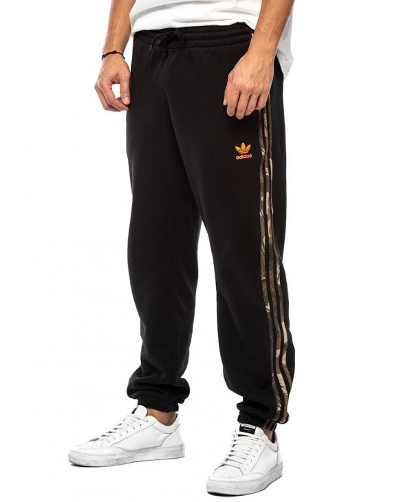 CAMO SWEATPANTS IN BLACK