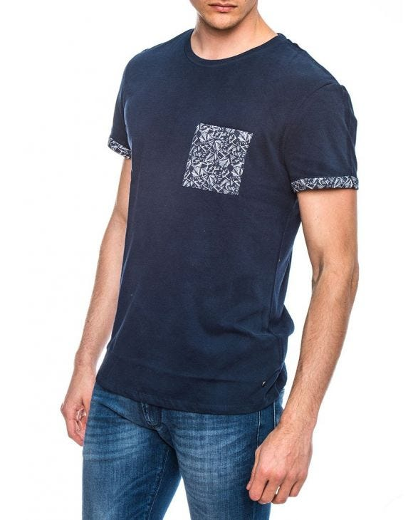 AURELIEN M T-SHIRT IN NAVY
