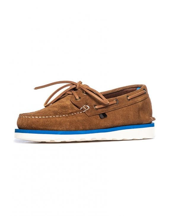 BOAT SHOE IN COGNAC
