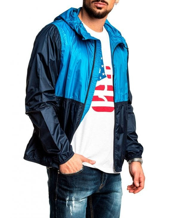 SOUTH BAY JACKE IN BLAU
