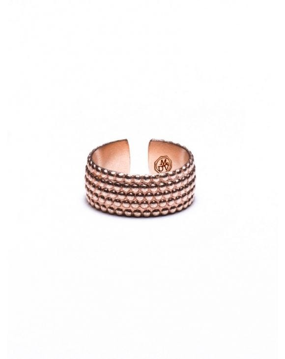 HURITT BAGUE EN OR ROSE