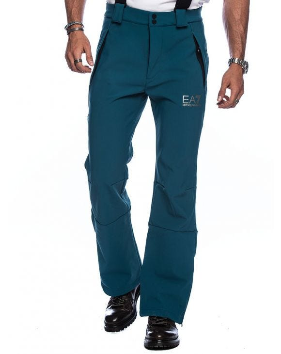 EA7 SKI PANTS IN OIL GREEN