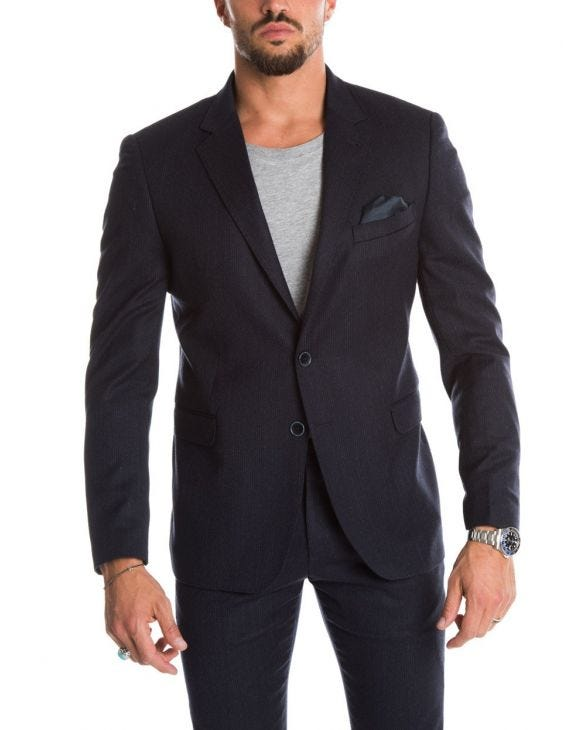JACOB BLAZER AZUL