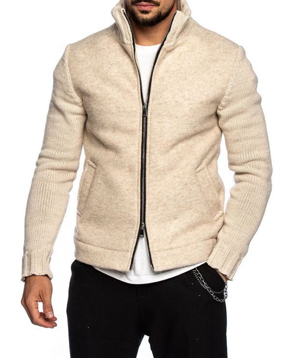 ALLEN JACKET IN BEIGE