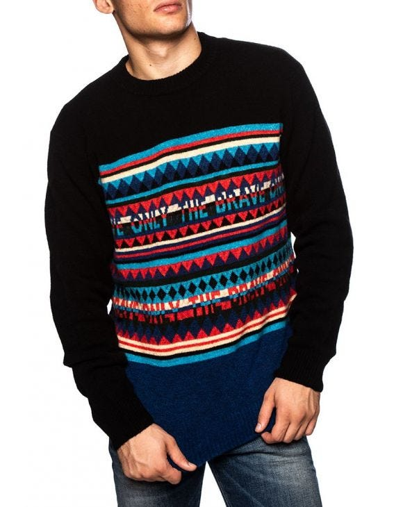 K-MICROP SWEATER IN BLUE