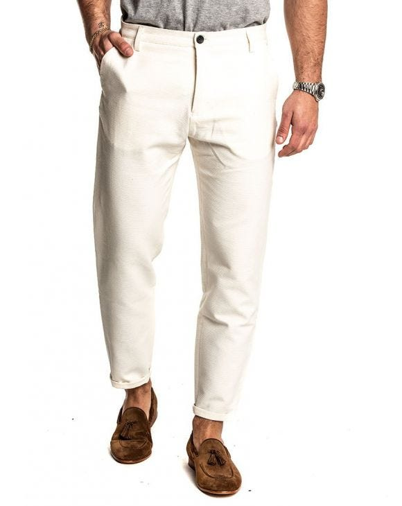 GOODBOY CASUAL PANTS IN CREAM