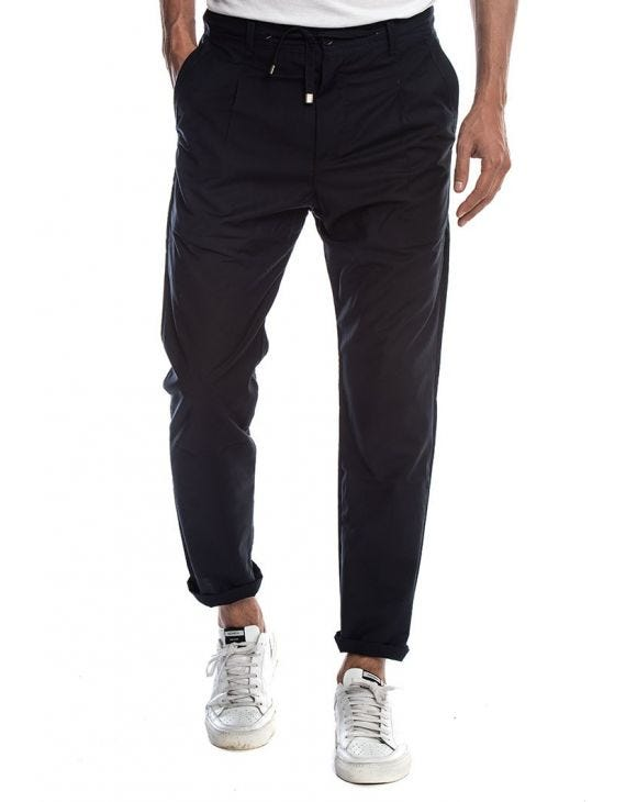 BELTOR CASUAL PANTS IN BLUE
