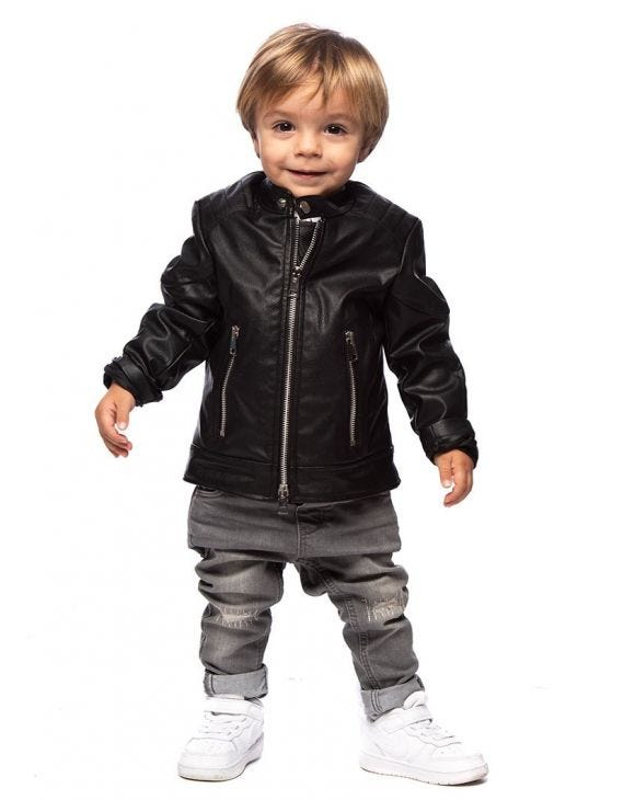 ELIOTT KID'S JACKET IN BLACK