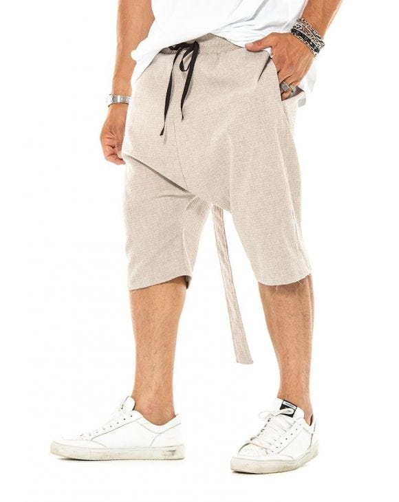 OBERON SWEATSHORTS IN BEIGE