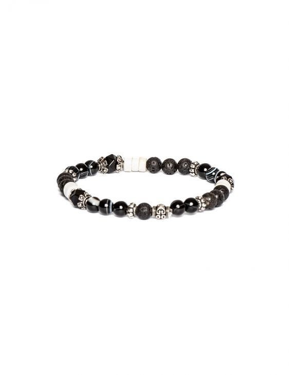 ANISH ARMBAND IN SCHWARZ