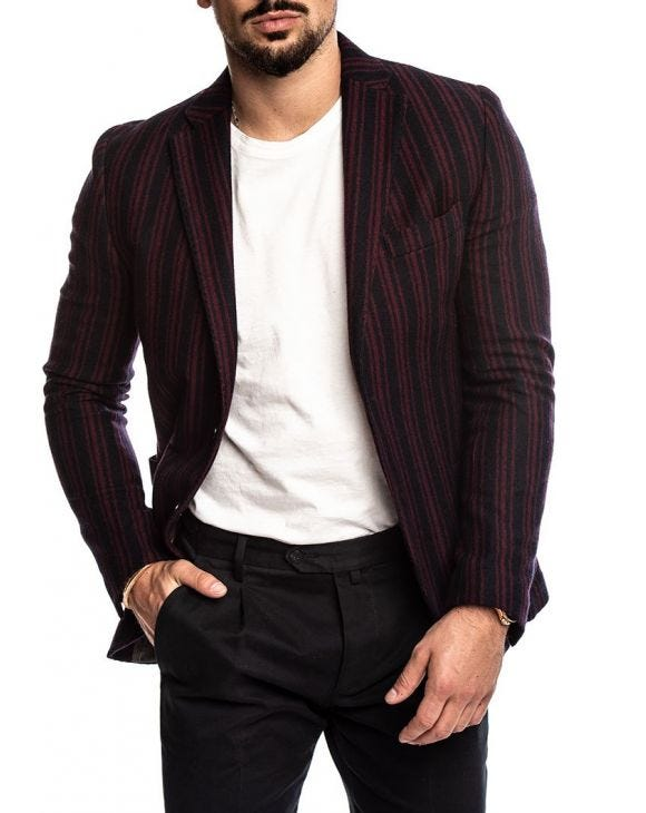 COLIN SINGLE BREASTED BLAZERS IN BROWN
