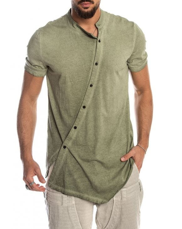 ZEN T-SHIRT IN GREEN