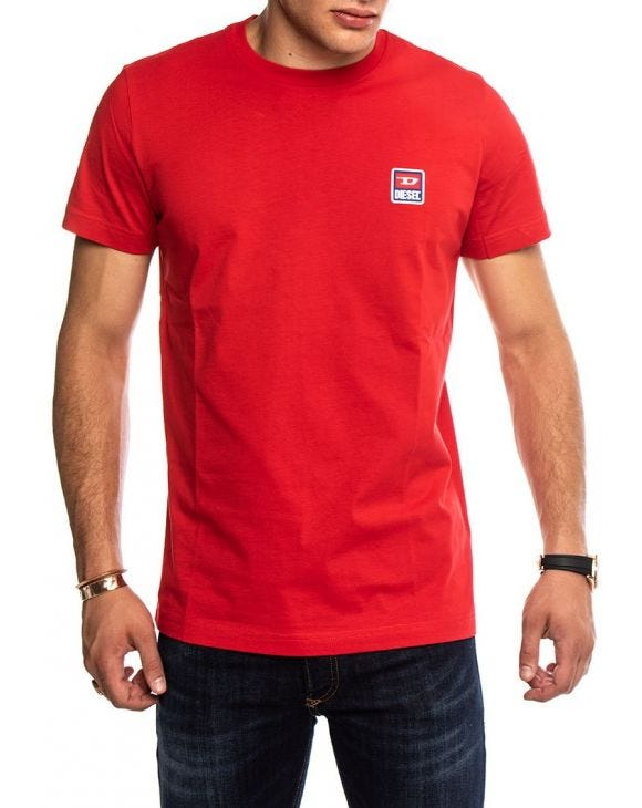 T-DIEGO DIV T-SHIRT IN ROT