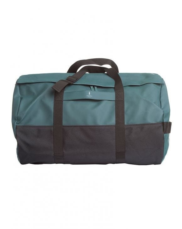 DARK TEAL TRAVEL DUFFEL BAG