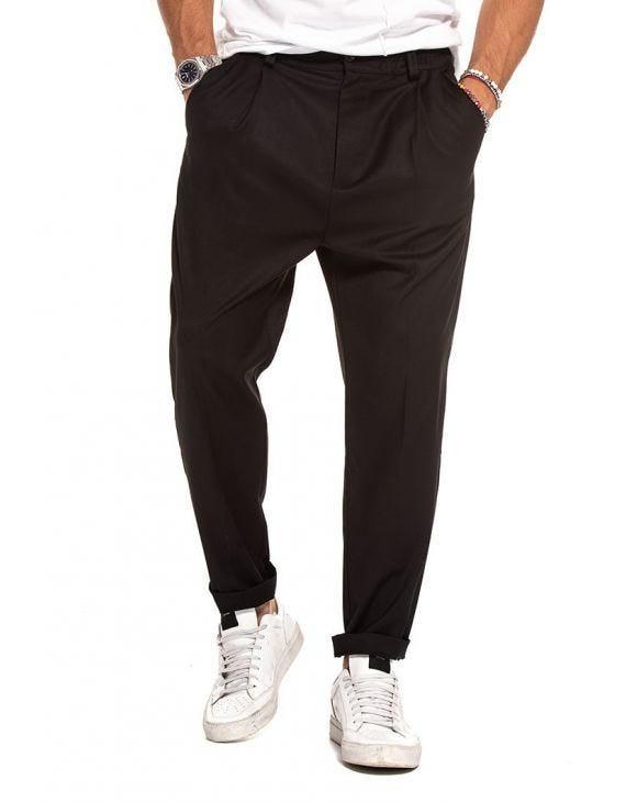 CADE FORMAL PANTS IN BLACK