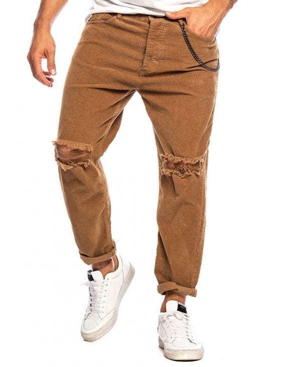 HARRIS PANTALON CAMELLO