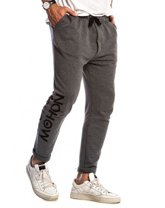NOHOW JOGGER IN GREY