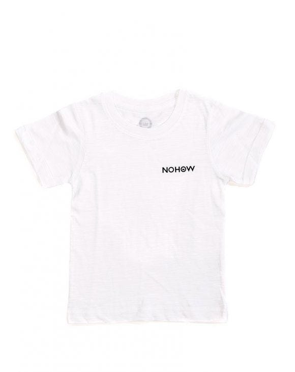 NOHOW BASIC KIDS T-SHIRT IN WHITE