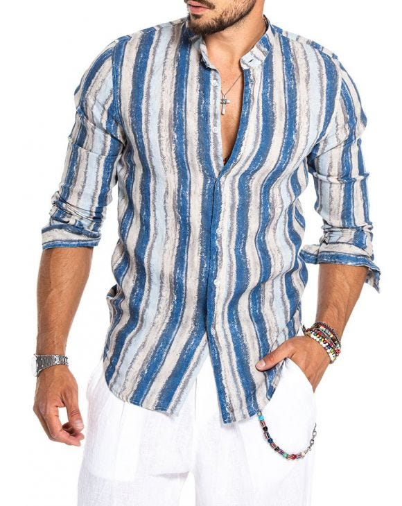 CALLUM STRIPED SHIRT