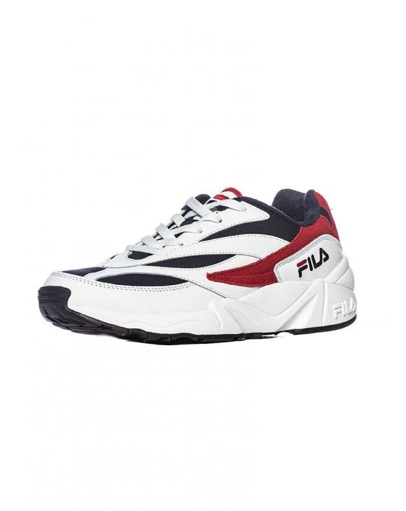 FILA SNEAKERS IN WHITE, RED AND BLUE