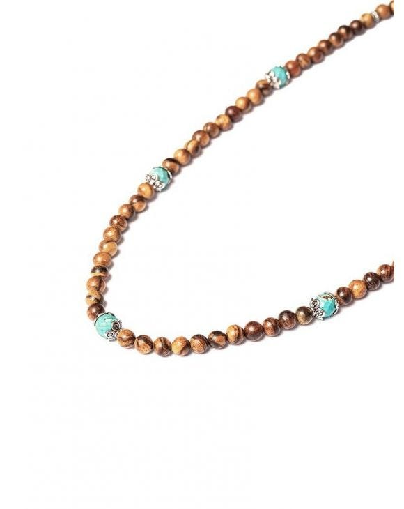 ASHA BROWN NECKLACE