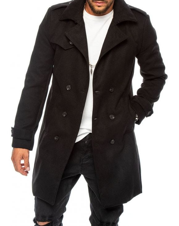 SEATTLE MANTEAU NOIR