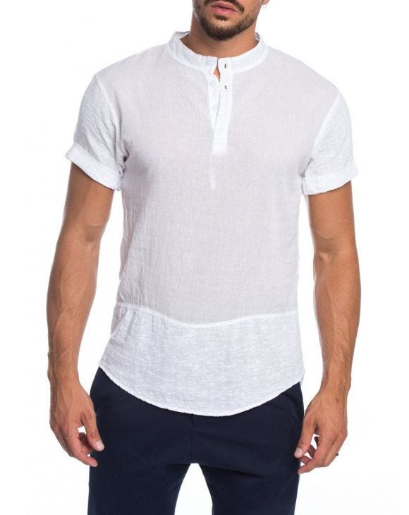 ARABIC WHITE SERAFINO T-SHIRT
