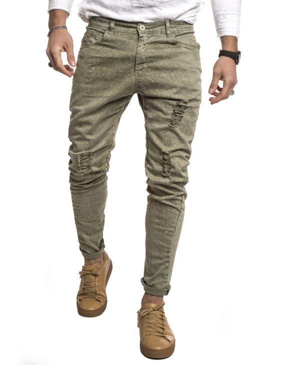 GREEN GABARDIN 2.0 PANTS