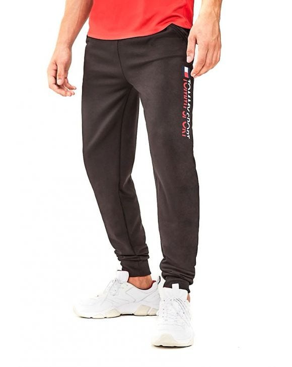 TOMMY SPORT JOGGERS NEGROS