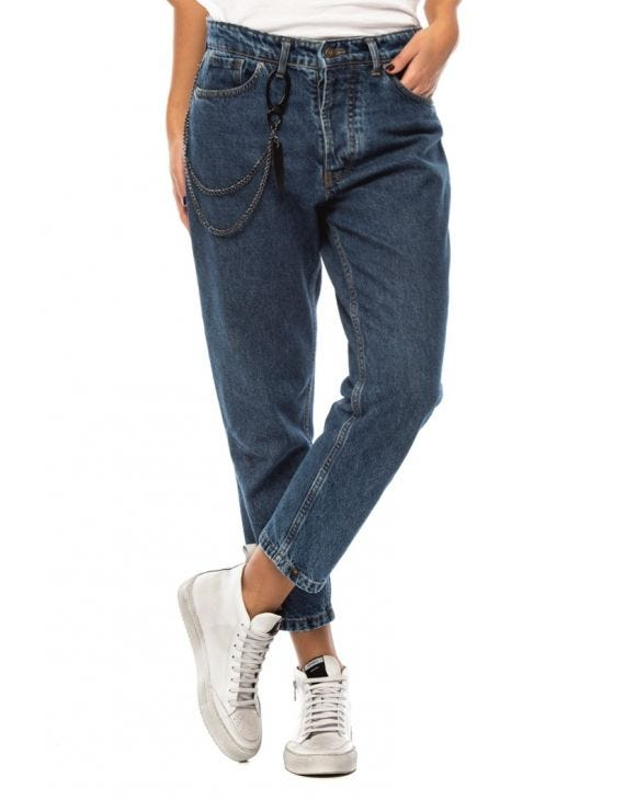 WMN HECTOR STRAIGHT JEANS IN BLUE
